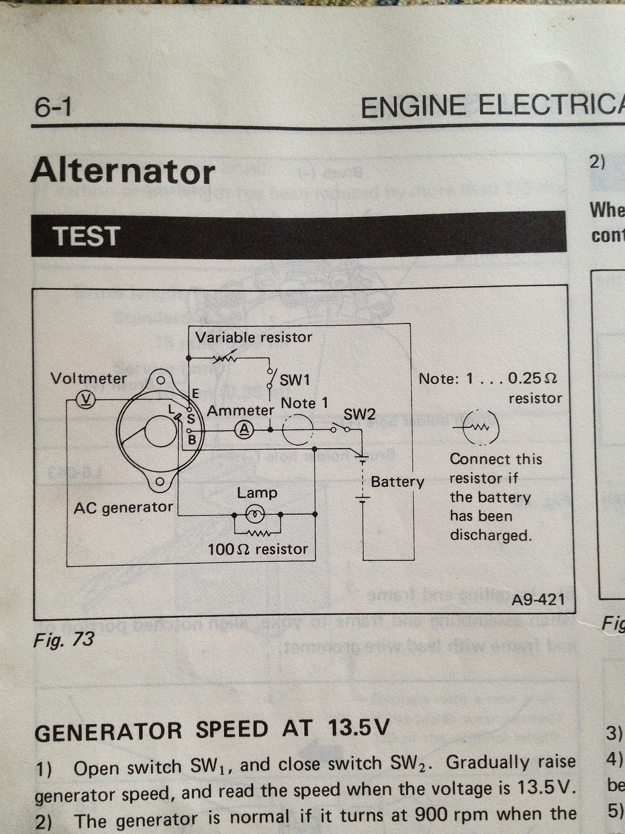 1985 Subaru Gl Wagon Alternator Wiring Diagram